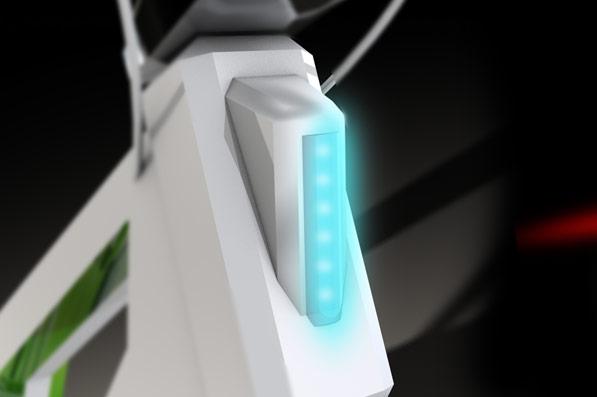 elektrokolo - detail světla