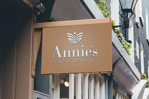 Anniés kosmetika - logo provozovny