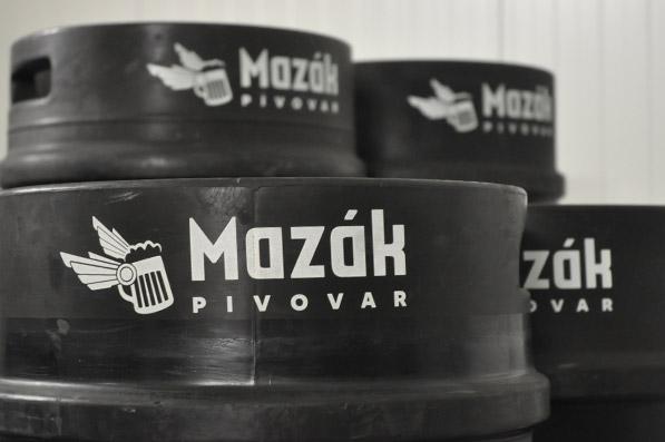 Logo Mazák - keg