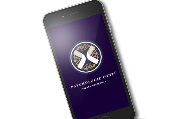 Psychologie fontů - logo na mobilu