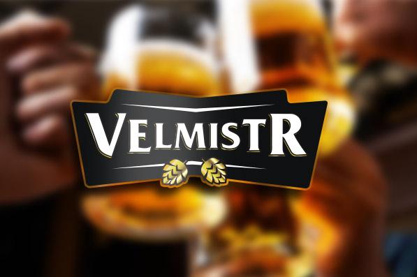 Velmistr beer - logo