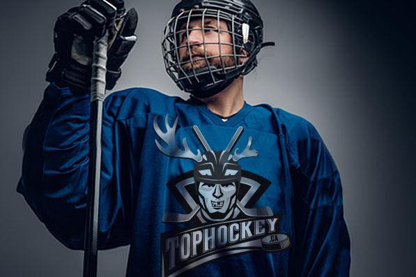 Logo Top Hockey - dres s logem