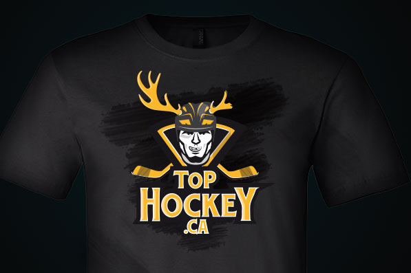 Logo Top Hockey - tričko s logem