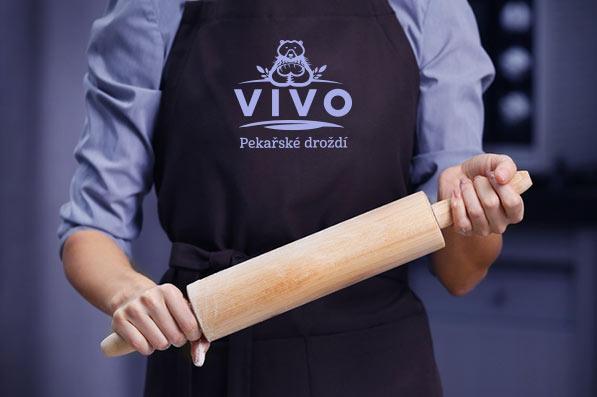Logo VIVO - zástěra