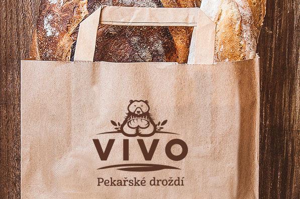 Logo VIVO - papírová taška