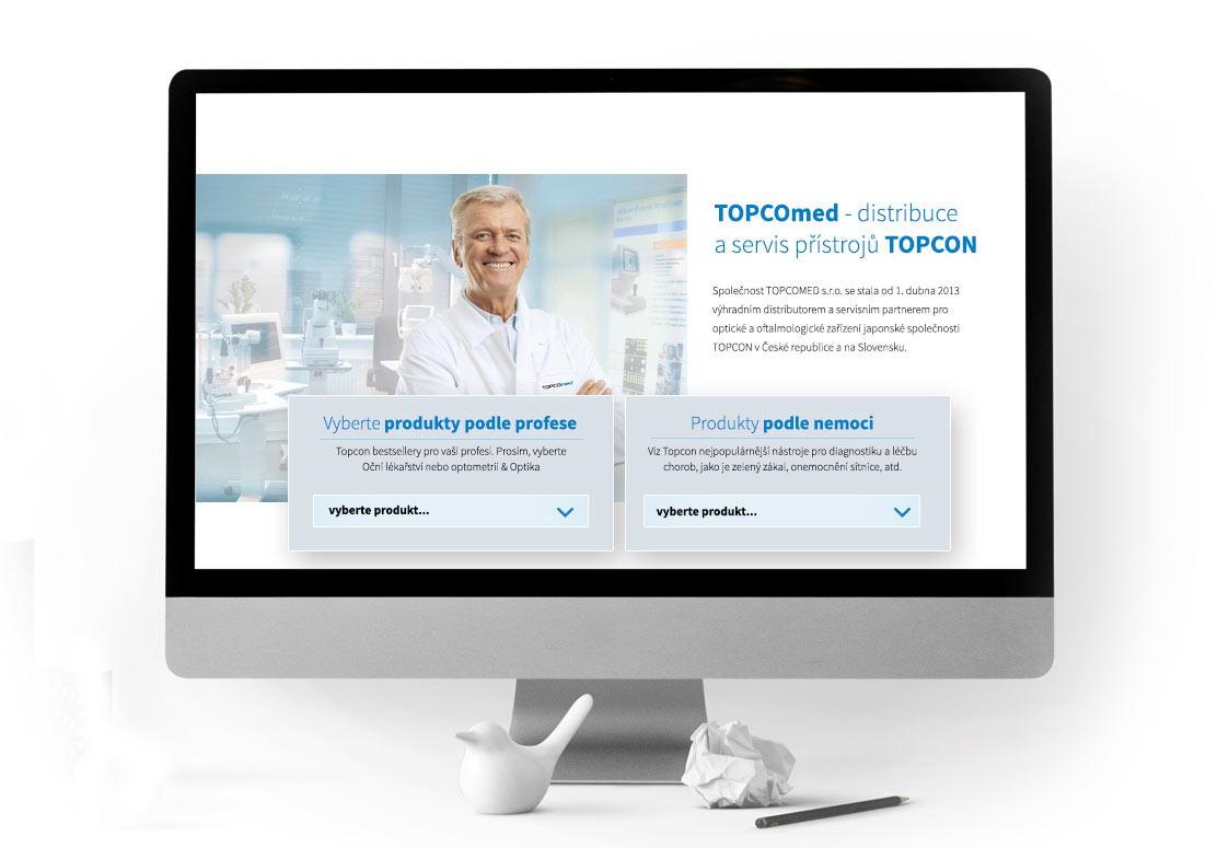 Topcomed - ukázka grafického zpracování