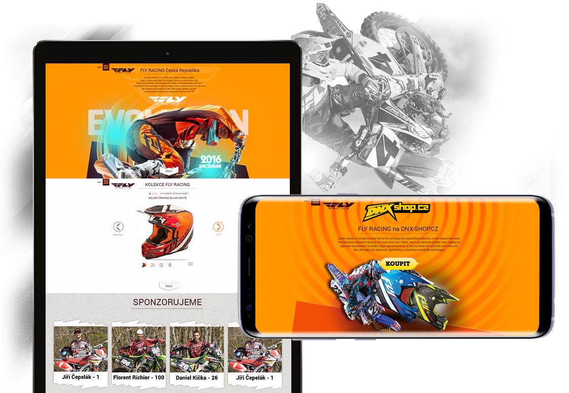 Fly racing - ukázka grafického zpracování